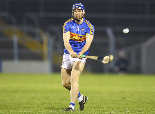 Tipperary's Jason Forde hits a free
