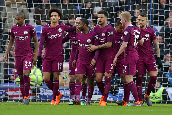2018 EPL Premier League Football Everton v Man City Mar 31st