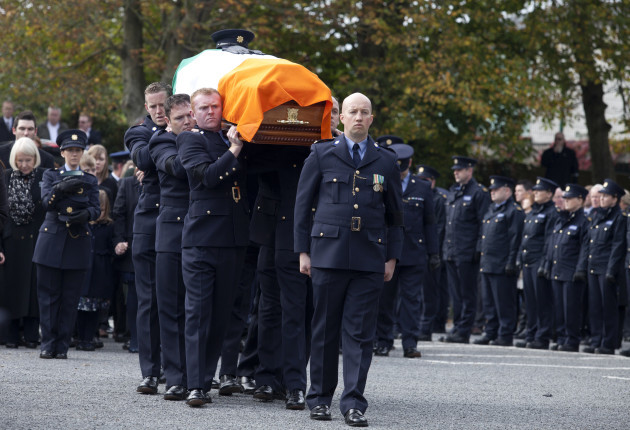 15/10/2015 Funeral of Garda Tony Golden