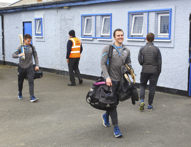 Waterford's Michael Walsh arrives before the game