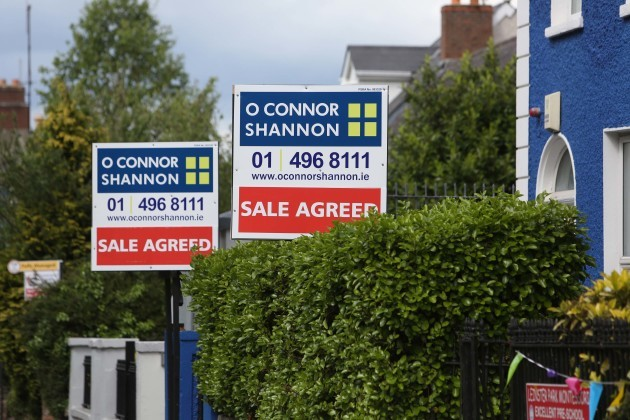 File Photo .House prices could rise by 20% in real terms over the next three years