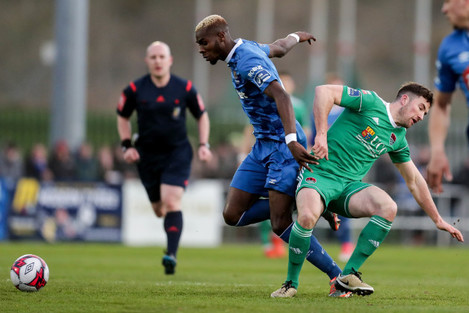 Izzy Akinade and Gearoid Morrissey