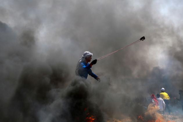 MIDEAST-GAZA-CLASHES