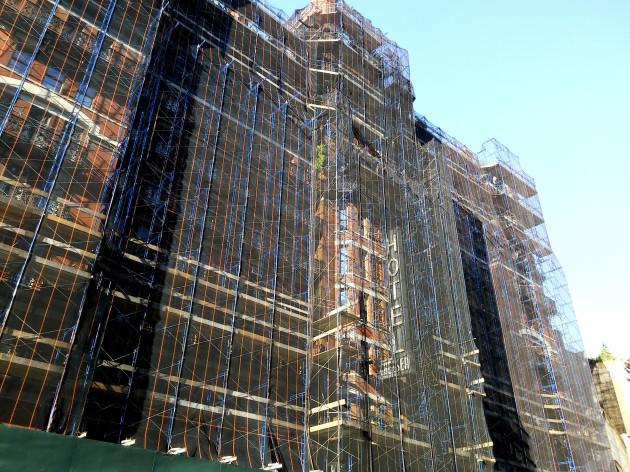 NY: Chelsea Hotel renovations in New York