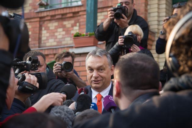 HUNGARY-BUDAPEST-PARLIAMENTARY ELECTION-VOTING
