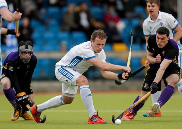 Luke Madeley scores a goal