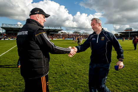 Brian Cody and Michael Ryan