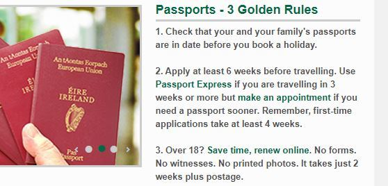 passport weeks