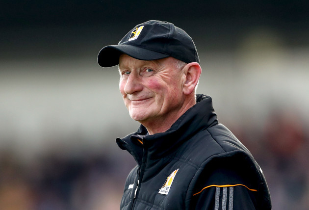 Brian Cody during the second half