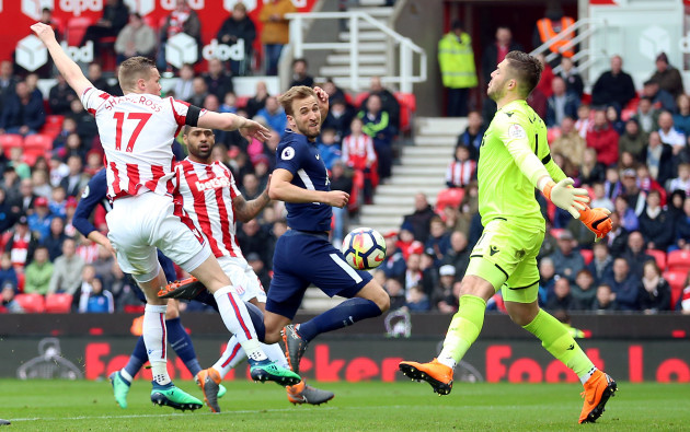Stoke City v Tottenham Hotspur - Premier League - bet365 Stadium