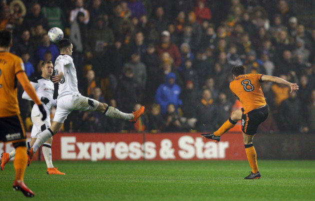 Wolverhampton Wanderers v Derby County - Sky Bet Championship - Molineux