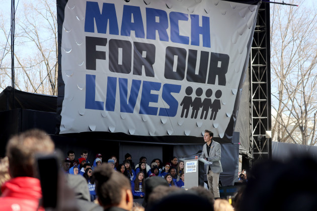 First-ever March For Our Lives - DC