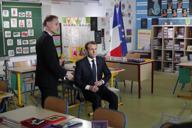 France Macron Strikes