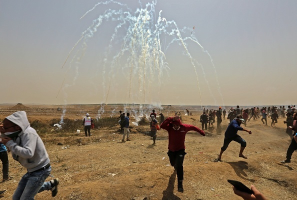 TOPSHOT-PALESTINIAN-ISRAEL-GAZA-CONFLICT
