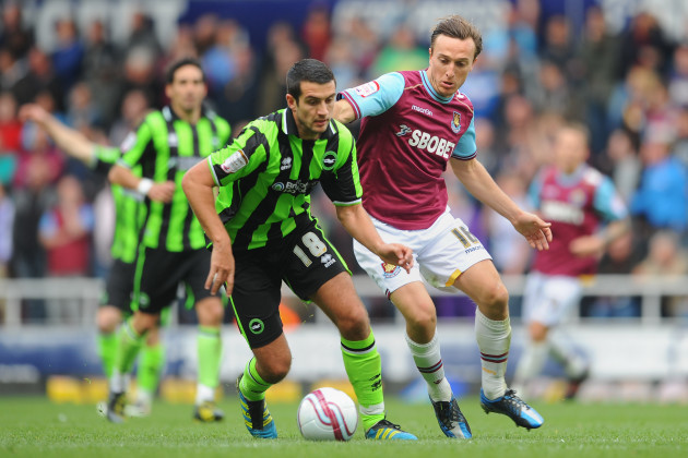 Soccer - npower Football League Championship - West Ham United v Brighton & Hove Albion - Upton Park