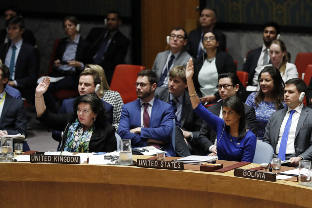 UN-SECURITY COUNCIL-SYRIA-DRAFT RESOLUTION-FAILING
