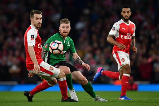 Arsenal v Lincoln City - Emirates FA Cup - Quarter Final - Emirates Stadium