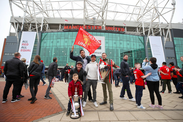 Manchester United v West Bromwich Albion - Premier League - Old Trafford