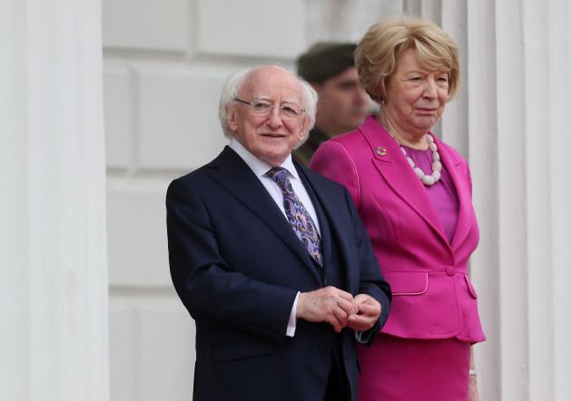 Sergio Mattarella state visit to Ireland