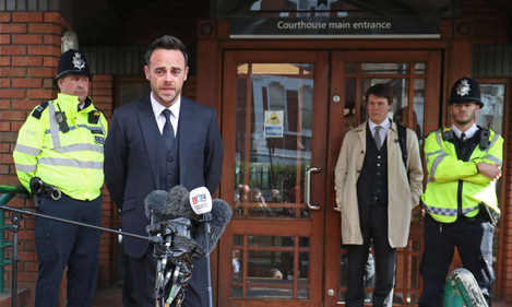 Ant McPartlin court case