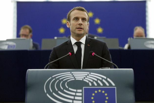 France Europe Macron