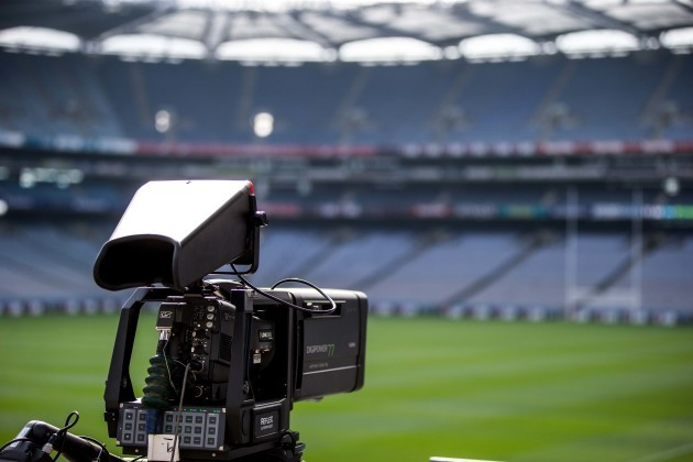 A view of a TV camera