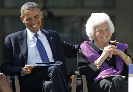 Barbara Bush Reported In Failing Health