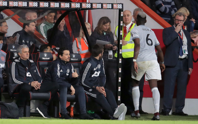 AFC Bournemouth v Manchester United - Premier League - Vitality Stadium