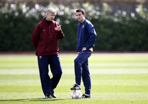 Soccer - Arsenal Training - London Colney