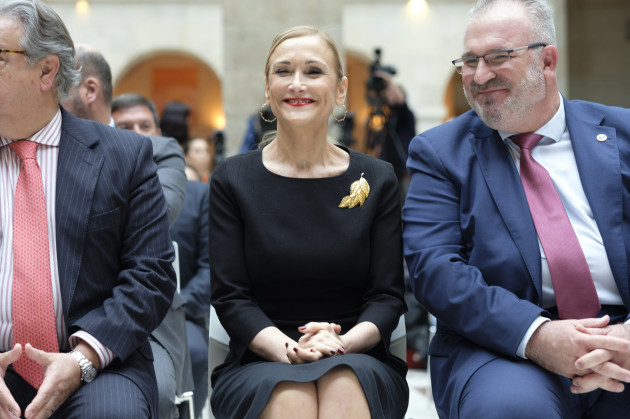 Spain: Cristina Cifuentes In Madrid