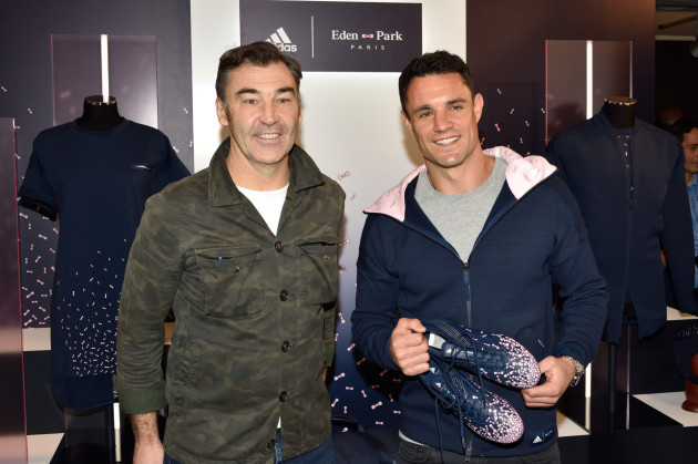 Dan Carter At Adidas Event - Paris