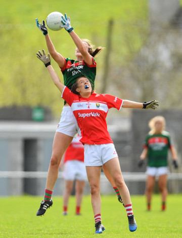 Cork v Mayo - Lidl Ladies Football National League Division 1 semi-final