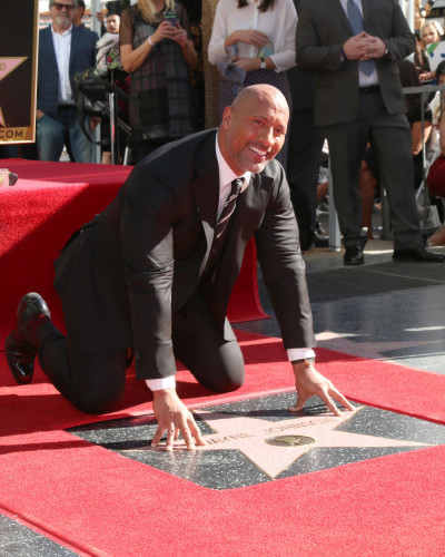 Dwayne Johnson - Hollywood Walk of Fame Ceremony