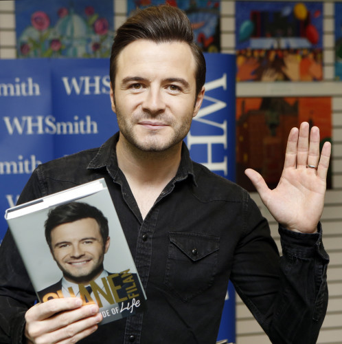 Shane Filan book signing - Glasgow