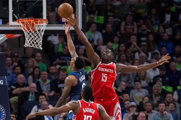 NBA: Playoffs-Houston Rockets at Minnesota Timberwolves