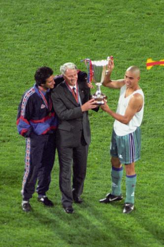 Soccer - European Cup Winners Cup - Final - Barcelona v Paris St Germain - De Kuip Stadium