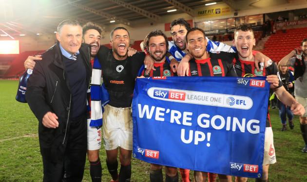 Doncaster Rovers v Blackburn Rovers - Sky Bet League One - Keepmoat Stadium