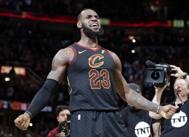 d8669ff5bb2a Watch  LeBron pulls off game-saving block and epic buzzer-beater to ...