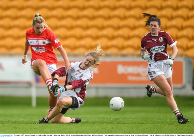 Cork v Galway - All Ireland Ladies Football Minor A Championship Final