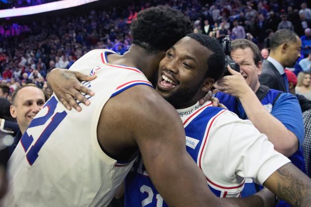 NBA: Playoffs-Miami Heat at Philadelphia 76ers