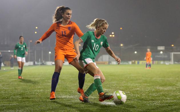 Denise O'Sullivan and Lieke Martens