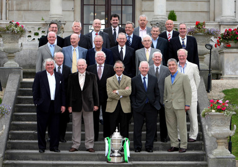Members of the Shamrock Rovers teams of the 1960's