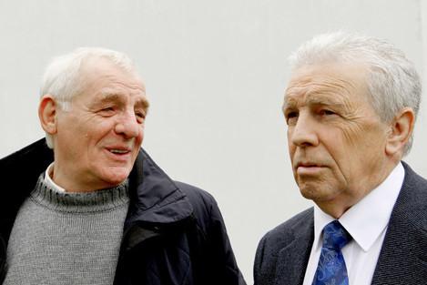 Eamon Dunphy and John Giles