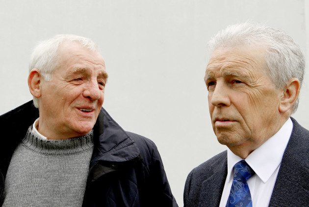 Eamon Dunphy and John Giles
