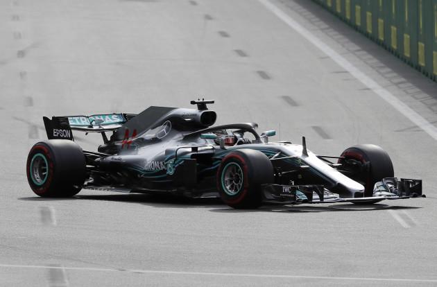 Azerbaijan F1 Gp Auto Racing