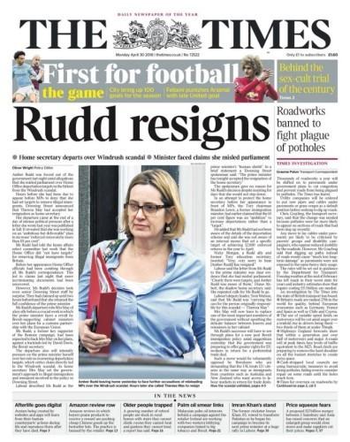 rudd resigns