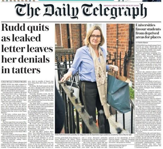 rudd telegraph