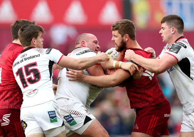 Tempers flare between Rory Best and Rhys Marshall