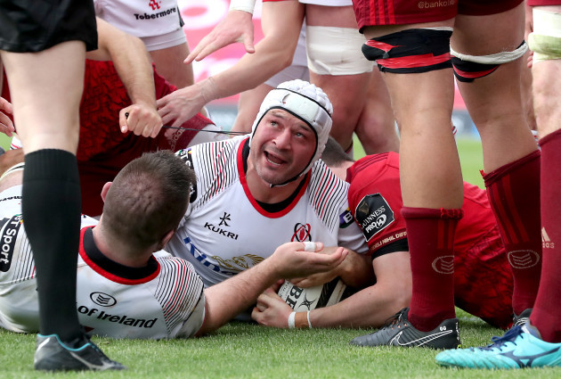 Rory Best scores his second try