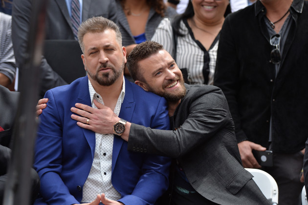 NSYNC Honoured With Star on The Hollywood Walk of Fame